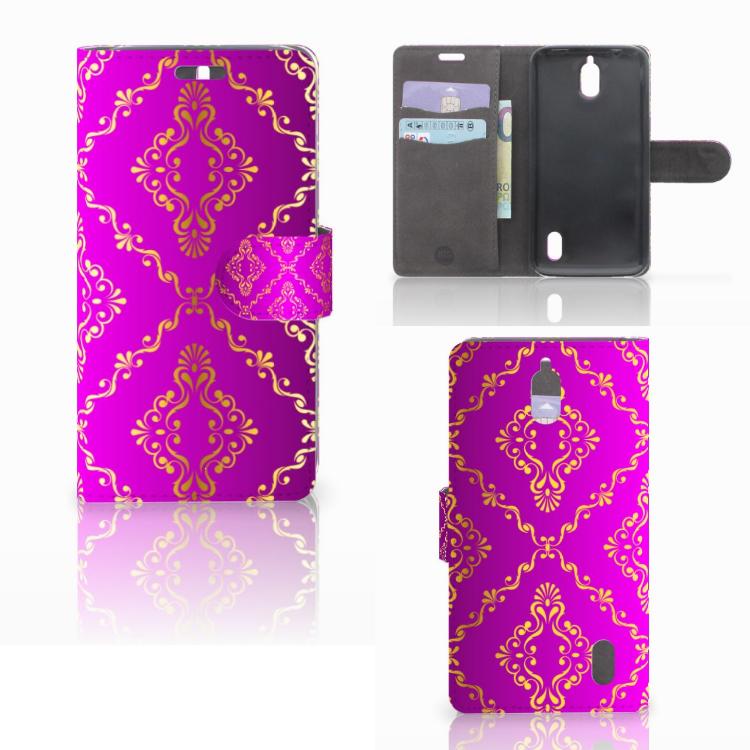 Wallet Case Huawei Y625 Barok Roze