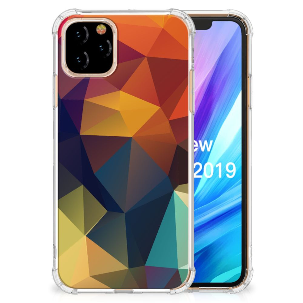 Apple iPhone 11 Pro Shockproof Case Polygon Color