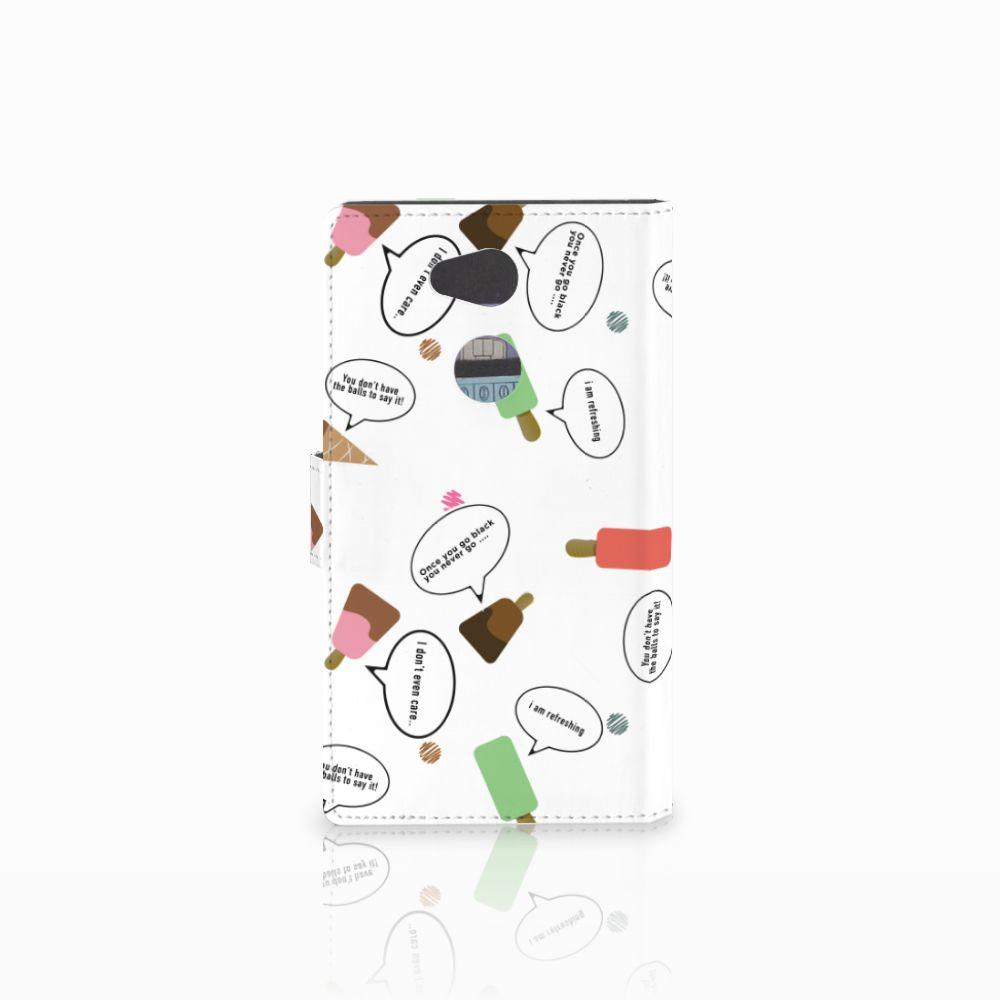 Sony Xperia L2 Book Cover IJsjes
