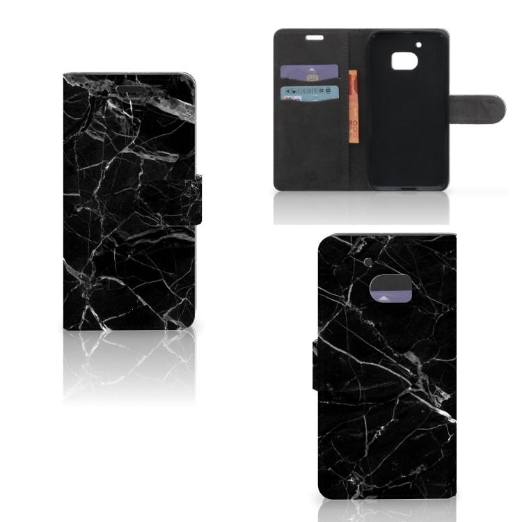 HTC 10 Bookcase Marmer Zwart