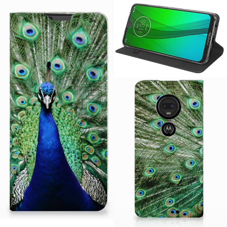 Motorola Moto G7 | G7 Plus Hoesje maken Pauw