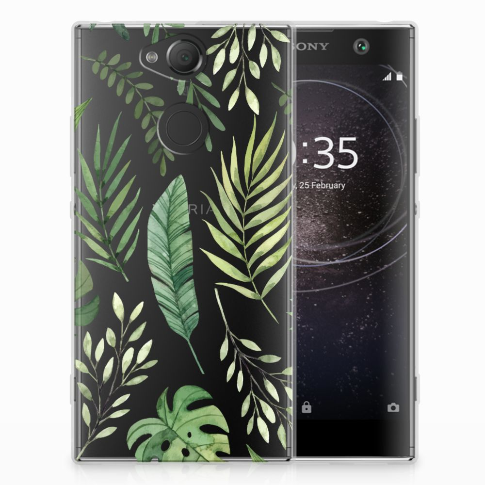 Sony Xperia XA2 TPU Case Leaves