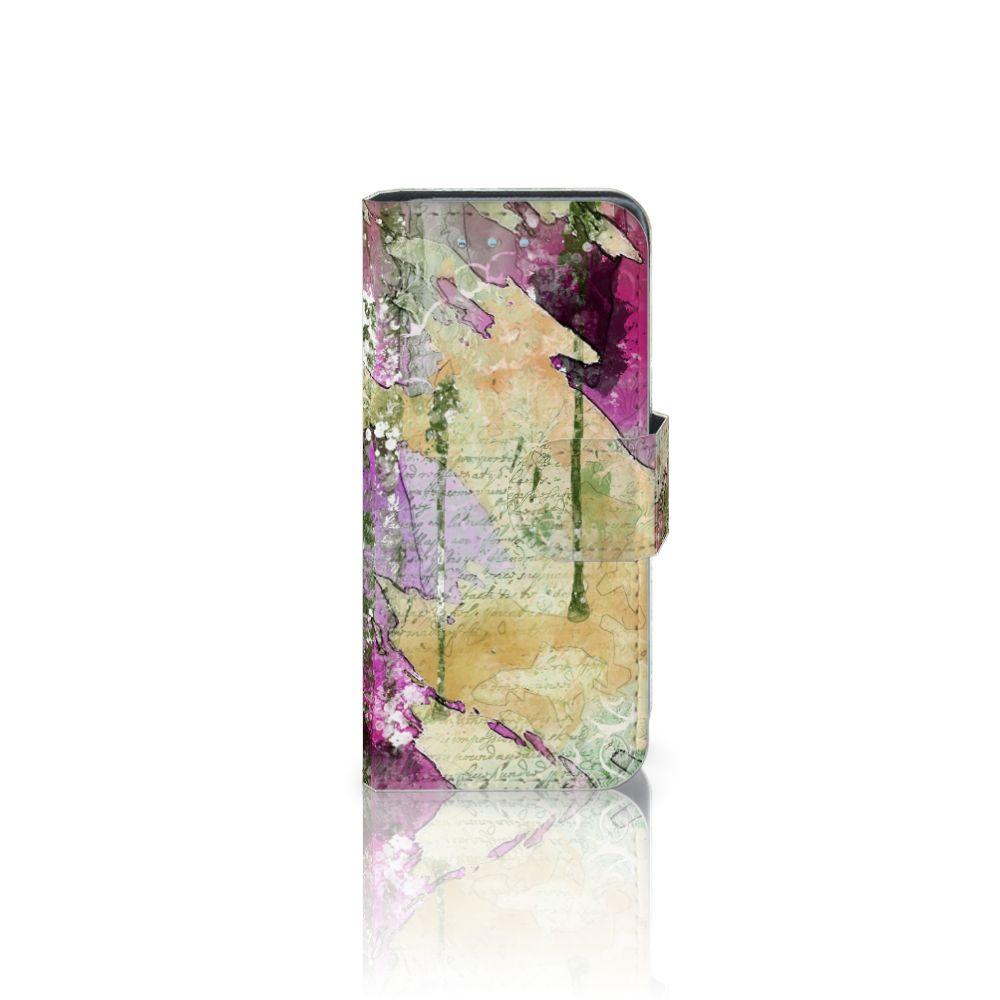 Samsung Galaxy S4 Mini i9190 Uniek Boekhoesje Letter Painting