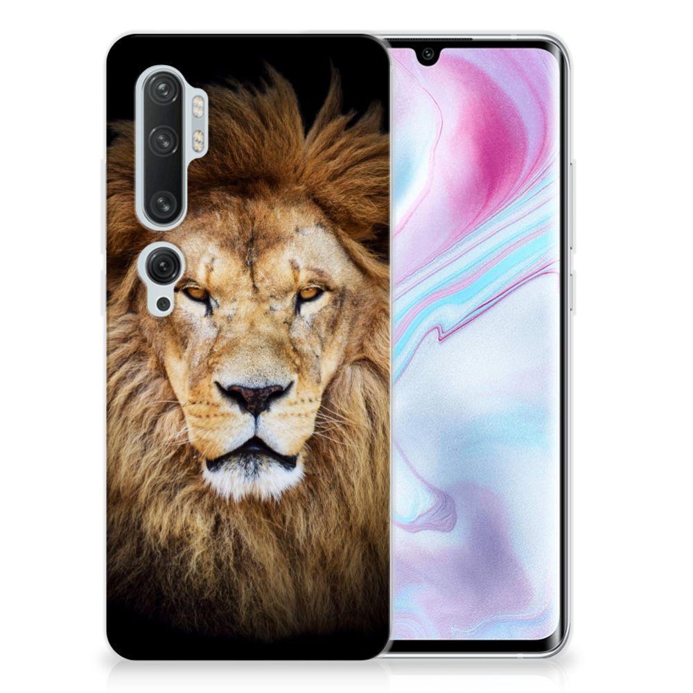 Xiaomi Mi Note 10 Pro TPU Hoesje Leeuw