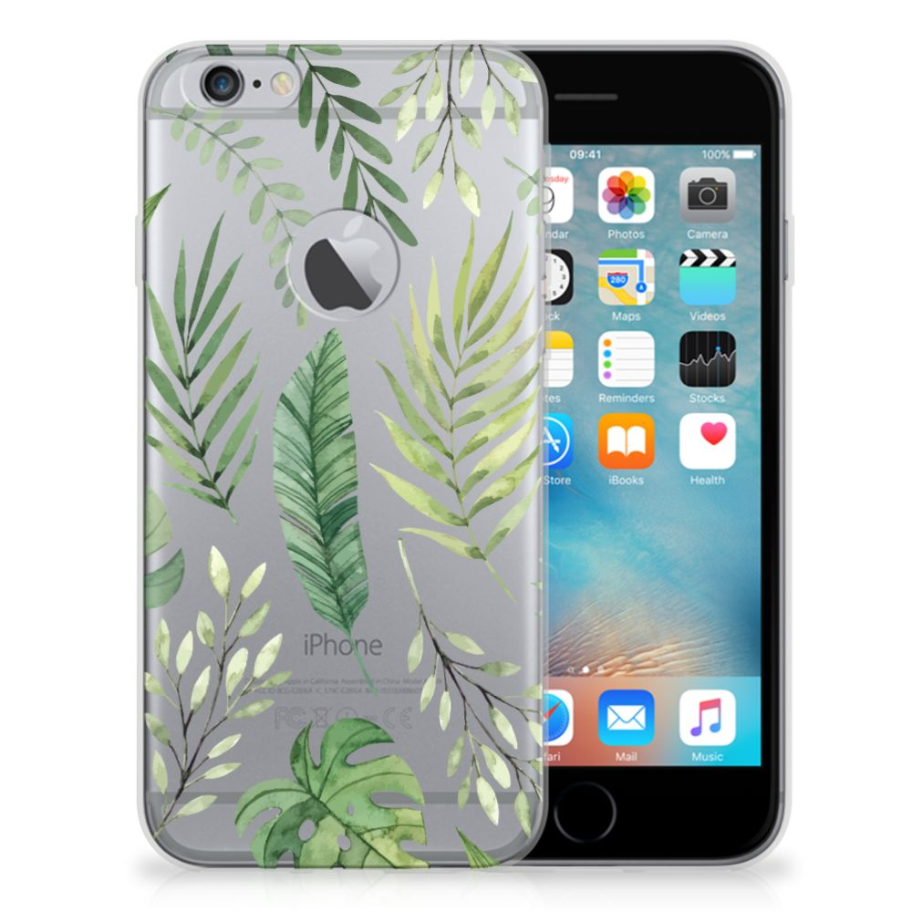 Apple iPhone 6 Plus | 6s Plus TPU Case Leaves