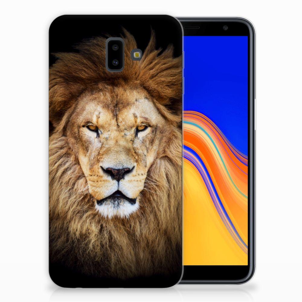 Samsung Galaxy J6 Plus (2018) Leuk Hoesje Leeuw