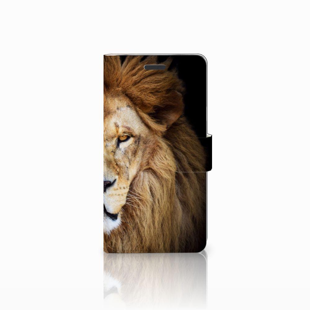 Samsung Galaxy Note 5 Boekhoesje Design Leeuw