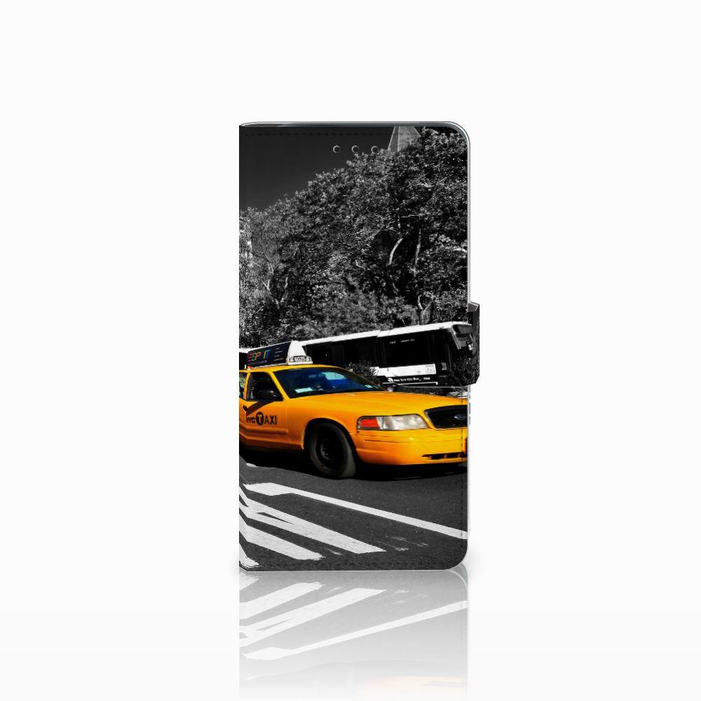 Samsung Galaxy J6 Plus (2018) Flip Cover New York Taxi