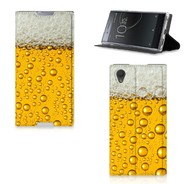 Sony Xperia L1 Flip Style Cover Bier
