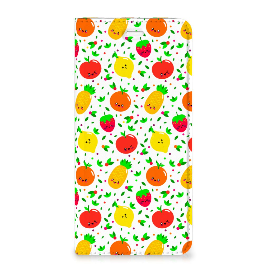 Huawei P10 Plus Flip Style Cover Fruits