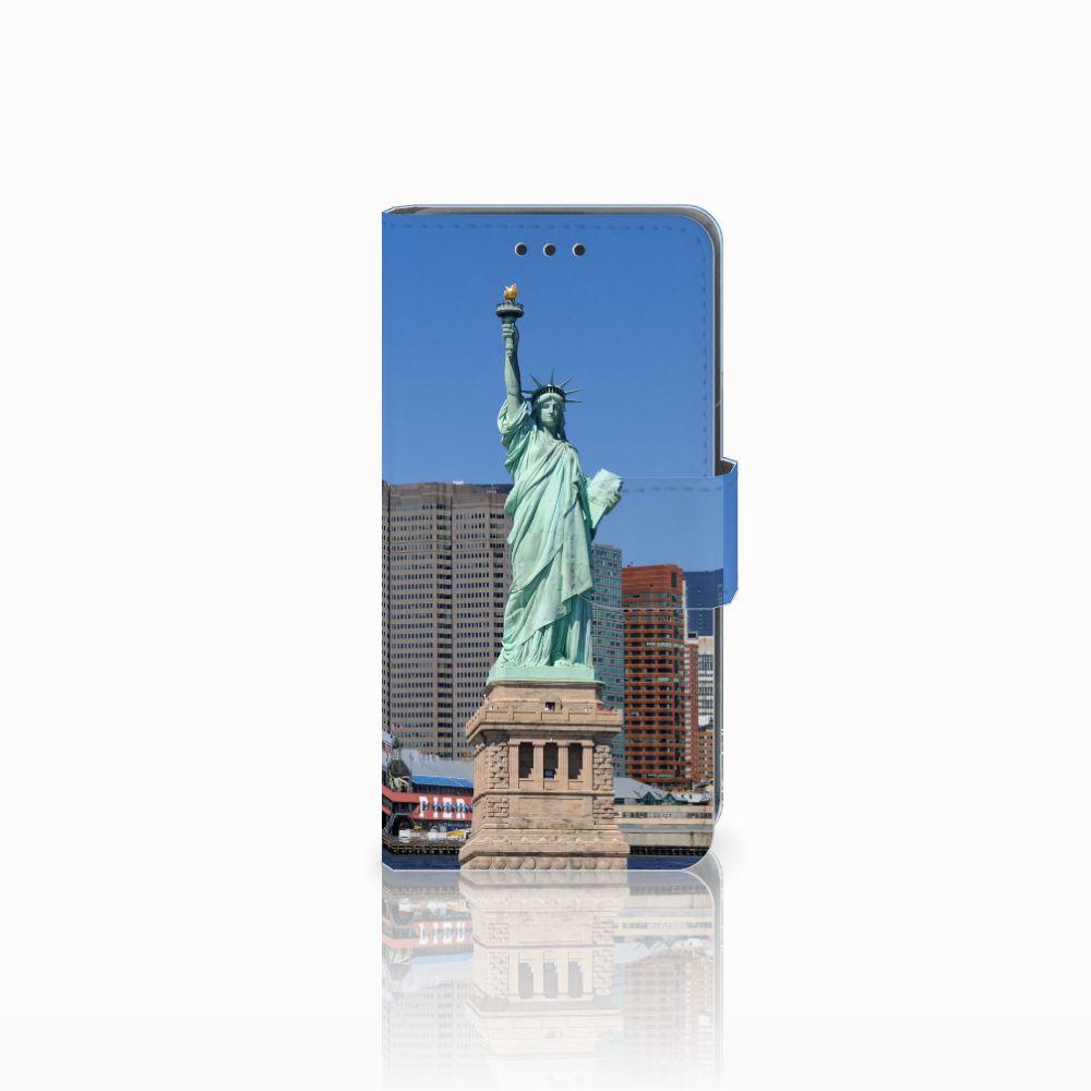 Nokia Lumia 630 Uniek Hoesje met Opbergvakjes Vrijheidsbeeld