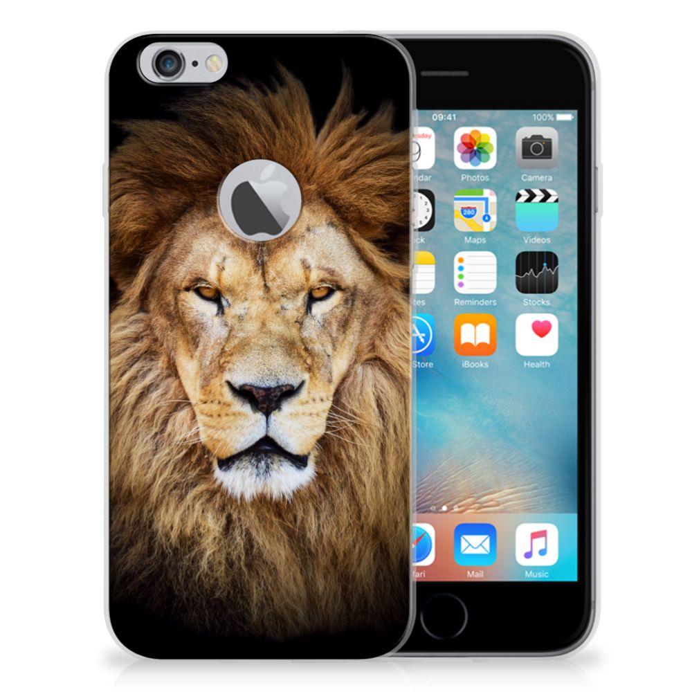 Apple iPhone 6 Plus | 6s Plus TPU Hoesje Leeuw