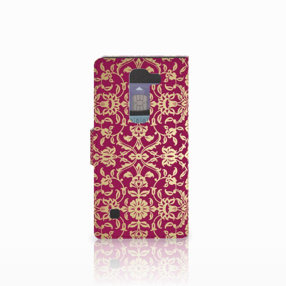 Wallet Case LG Spirit Barok Pink