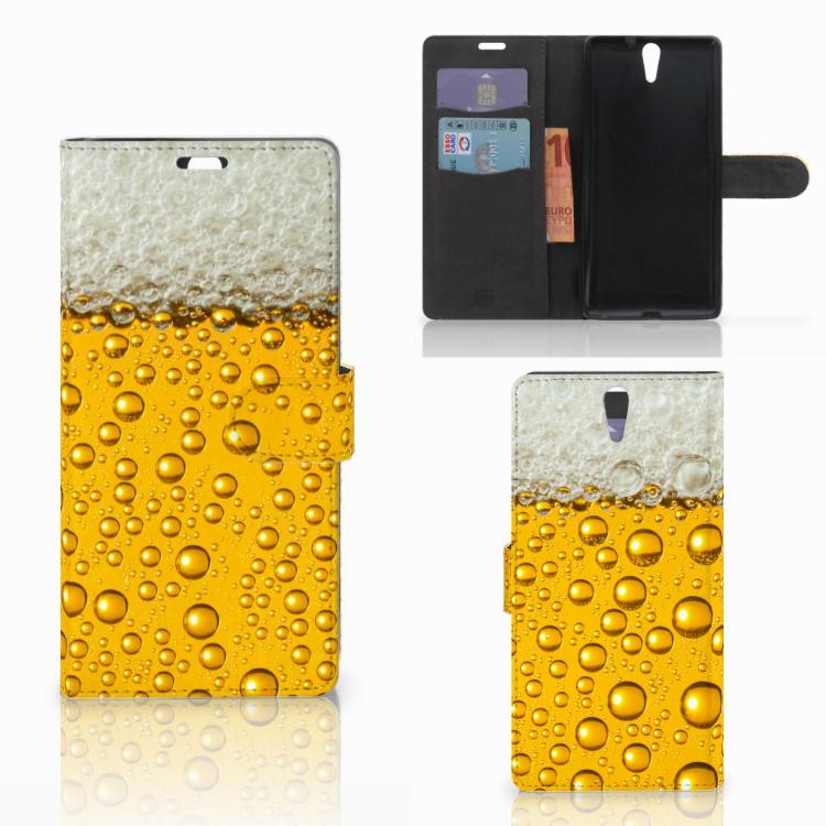 Sony Xperia C5 Ultra Book Cover Bier