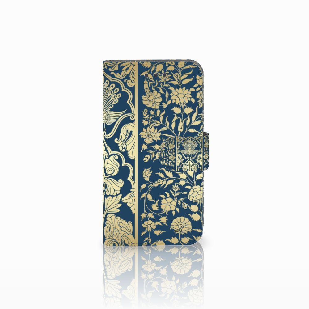 Samsung Galaxy Xcover 3 | Xcover 3 VE Uniek Boekhoesje Golden Flowers