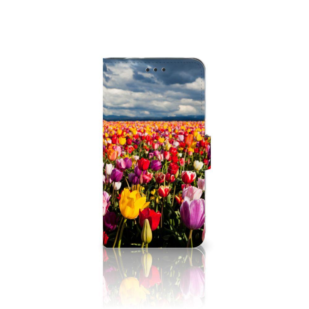 Motorola Moto Z2 Force Uniek Boekhoesje Tulpen