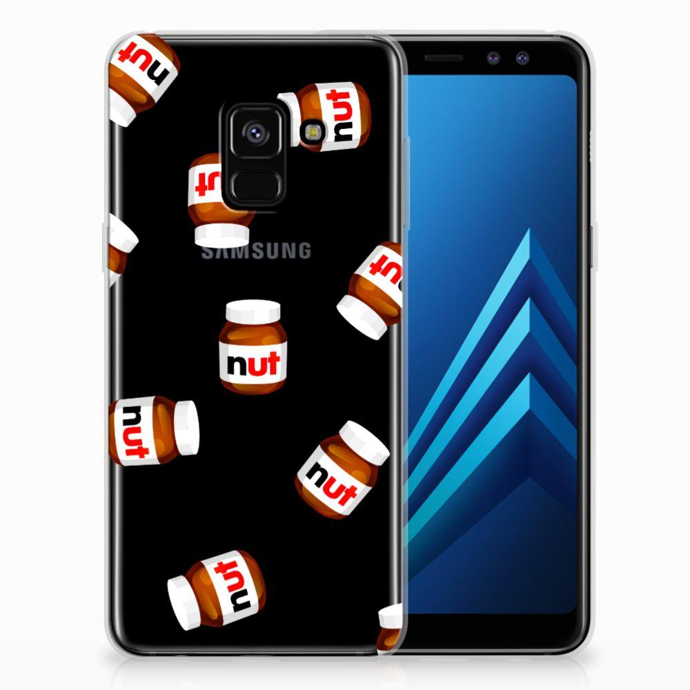 Samsung Galaxy A8 (2018) Siliconen Case Nut Jar