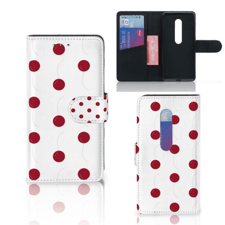 Motorola Moto G 3e Generatie Book Cover Cherries