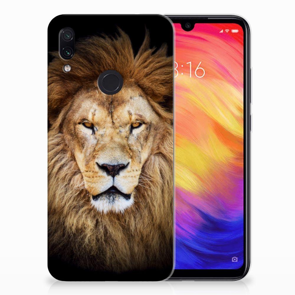Xiaomi Redmi Note 7 Pro TPU Hoesje Leeuw