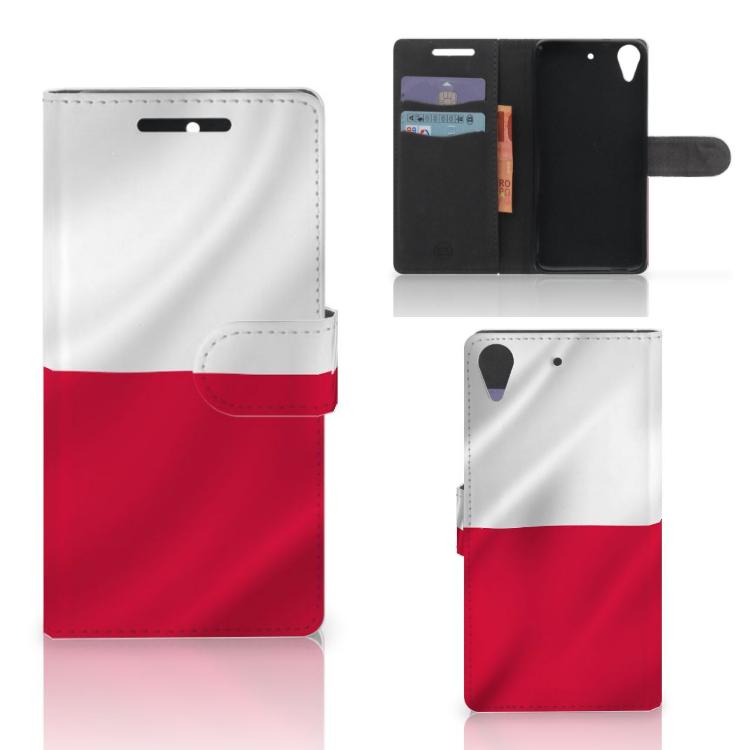 HTC Desire 628 Bookstyle Case Polen