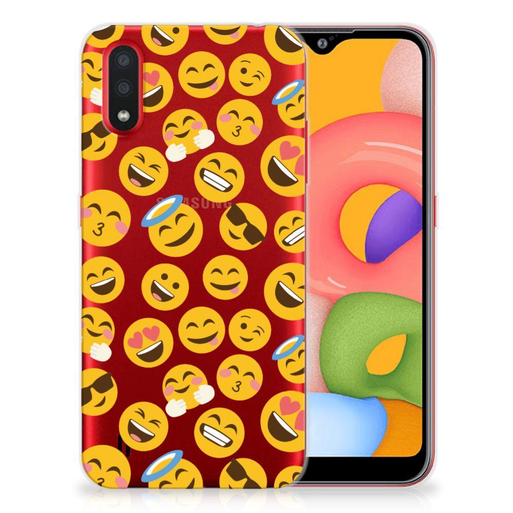 Samsung Galaxy A01 TPU bumper Emoji