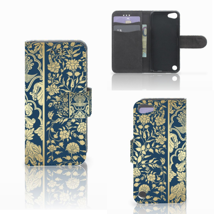 Apple iPod Touch 5 | 6 | iPod (2019) Hoesje Golden Flowers