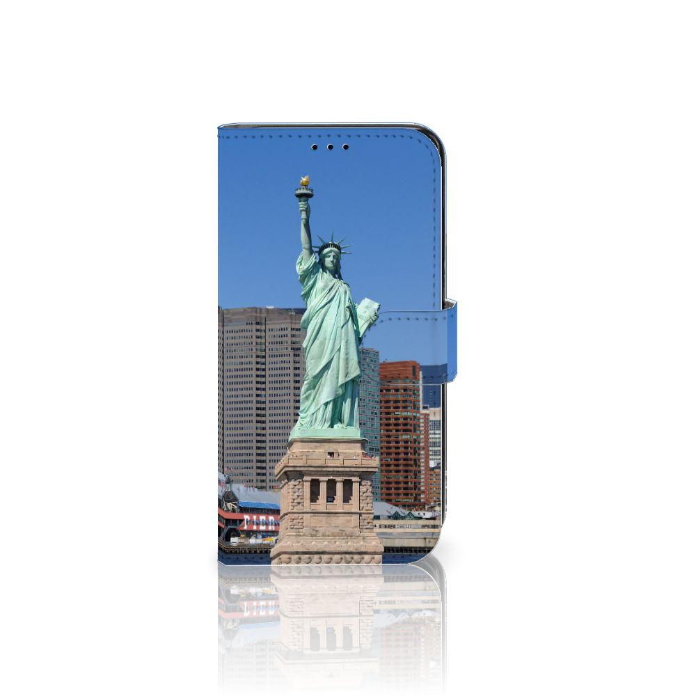 Samsung Galaxy S7 Edge Uniek Boekhoesje Vrijheidsbeeld