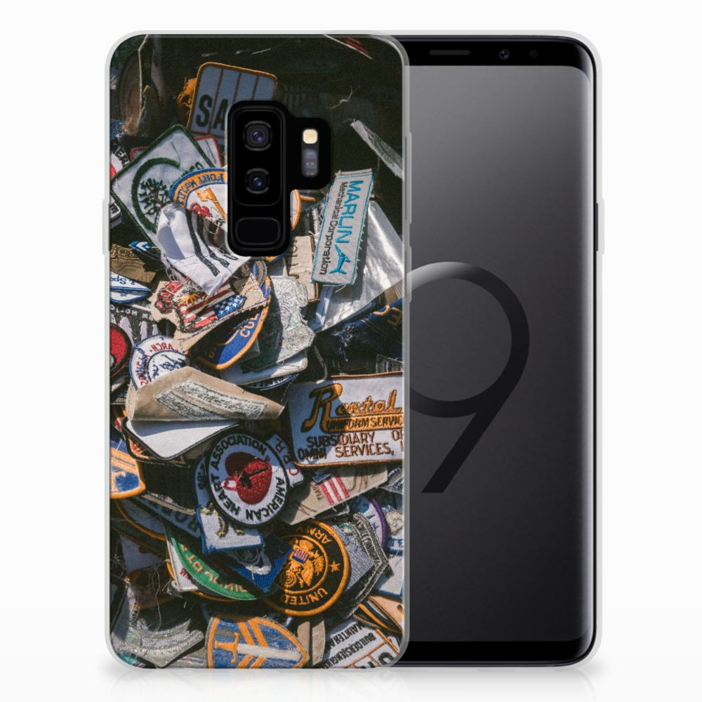 Samsung Galaxy S9 Plus Siliconen Hoesje met foto Badges
