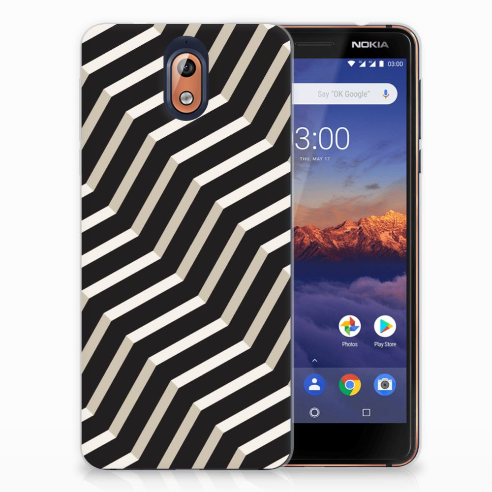 Nokia 3.1 (2018) TPU Hoesje Illusion