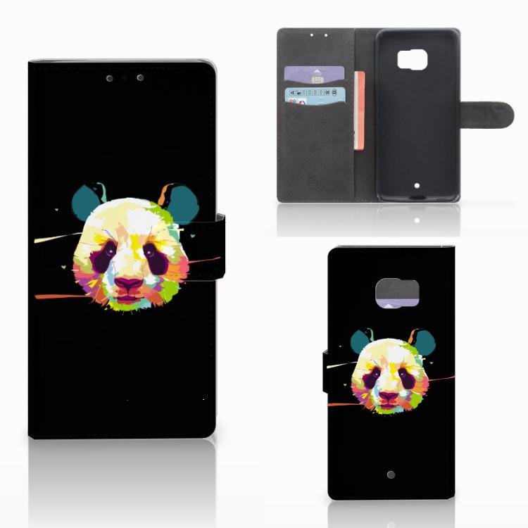 HTC U Ultra Leuke Hoesje Panda Color