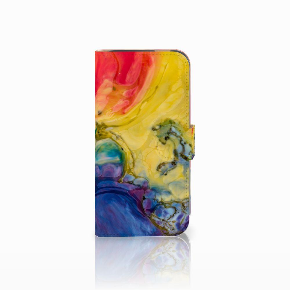 Hoesje HTC One M8 Watercolor Dark