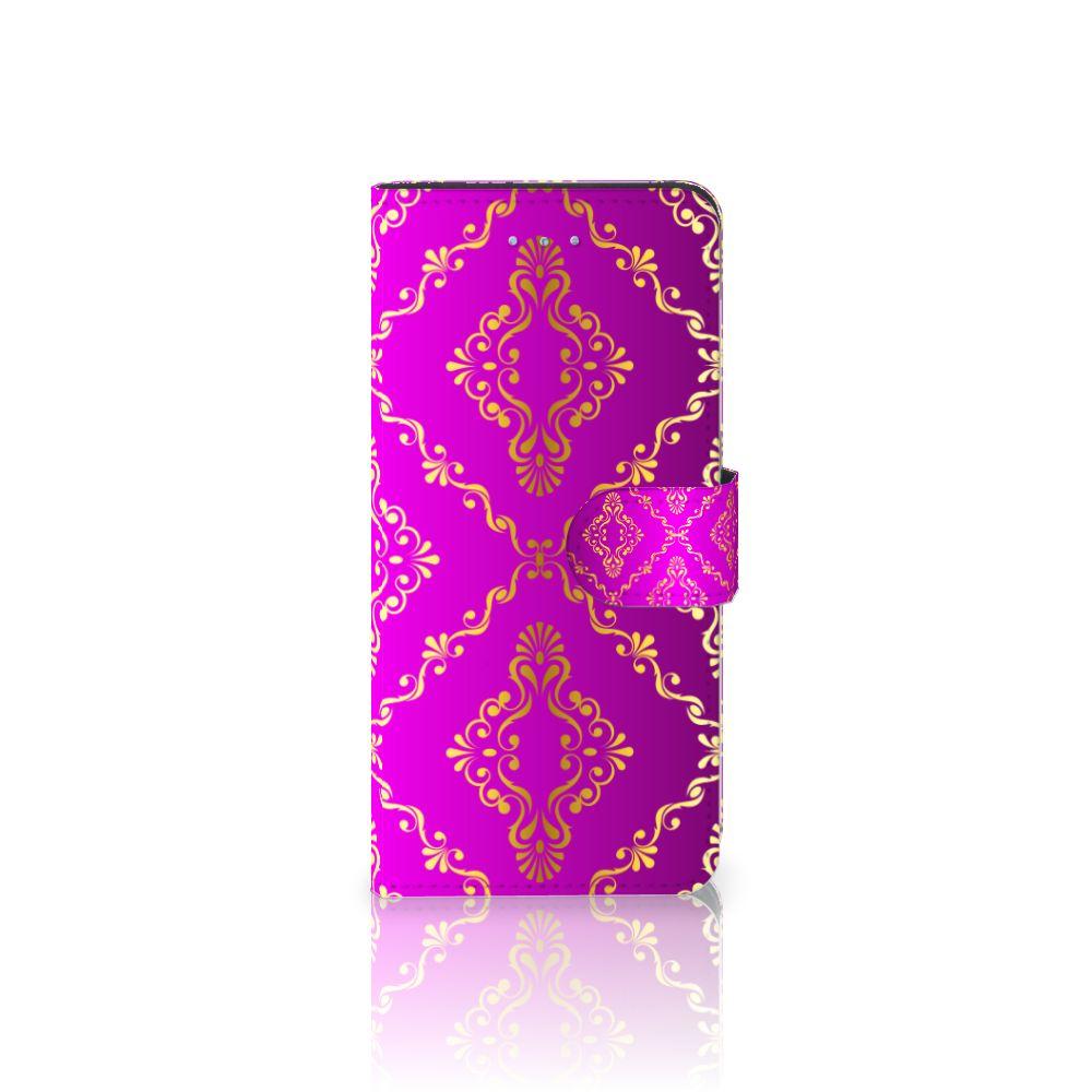 Apple iPhone 6 Plus | 6s Plus Uniek Boekhoesje Barok Roze