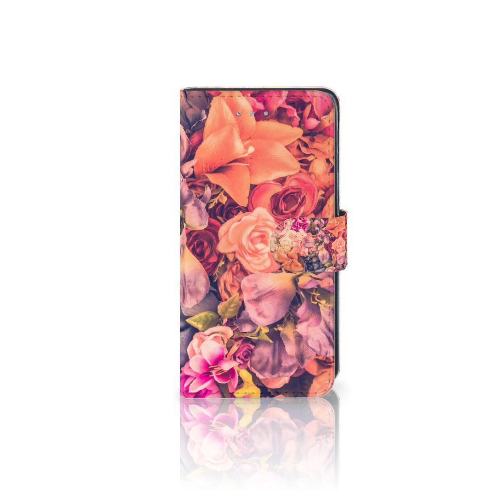 Samsung Galaxy J3 2016 Boekhoesje Design Bosje Bloemen