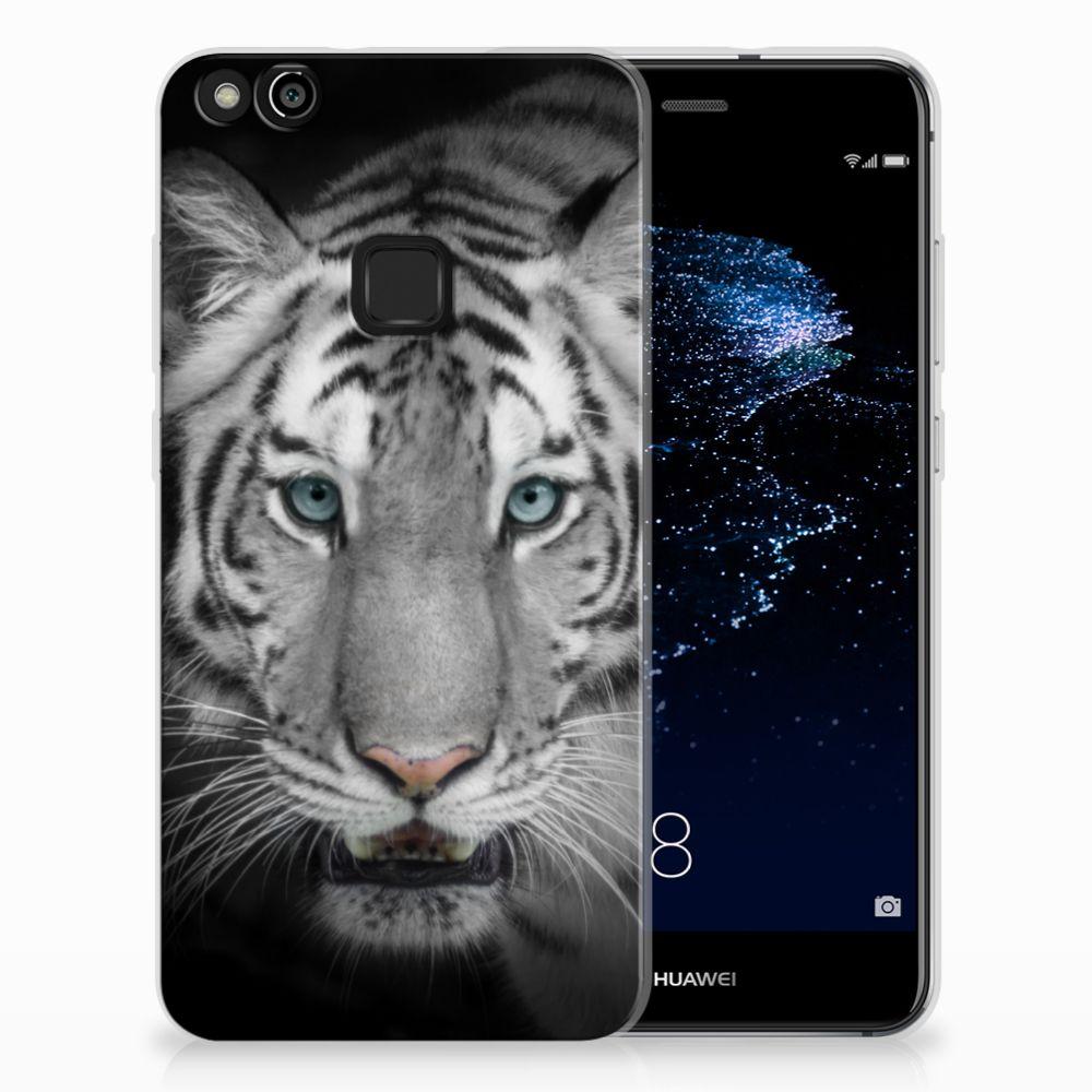 Huawei P10 Lite Uniek TPU Hoesje Tijger