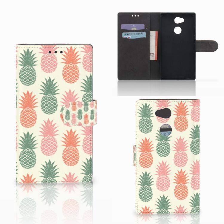 Sony Xperia L2 Book Cover Ananas