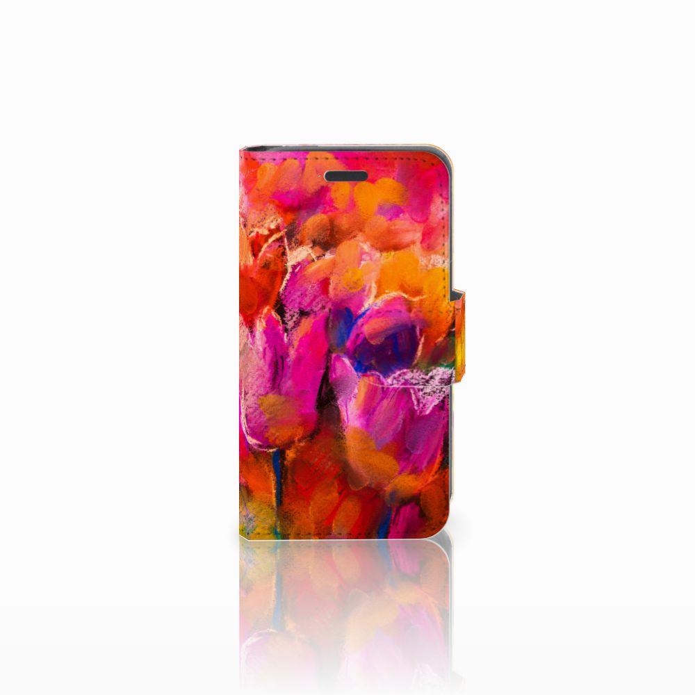 Nokia Lumia 520 Boekhoesje Design Tulips