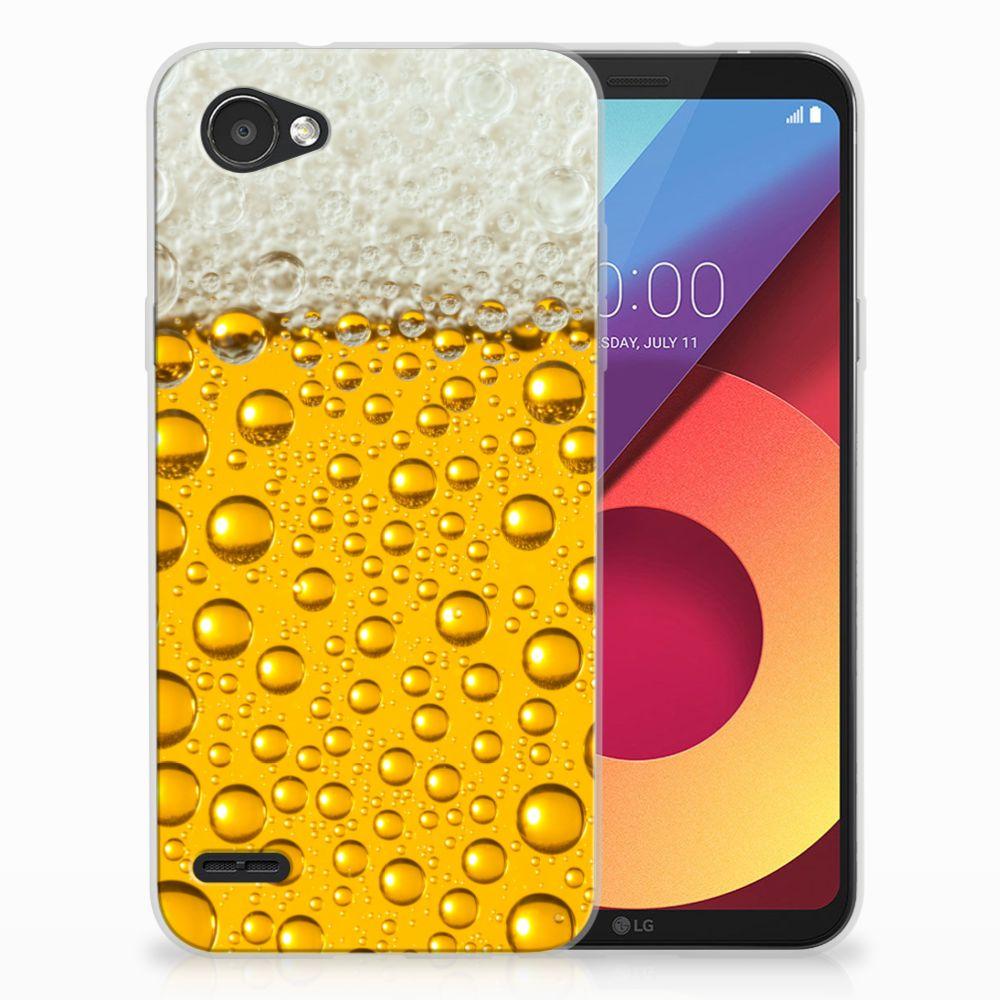 LG Q6 | LG Q6 Plus Siliconen Case Bier