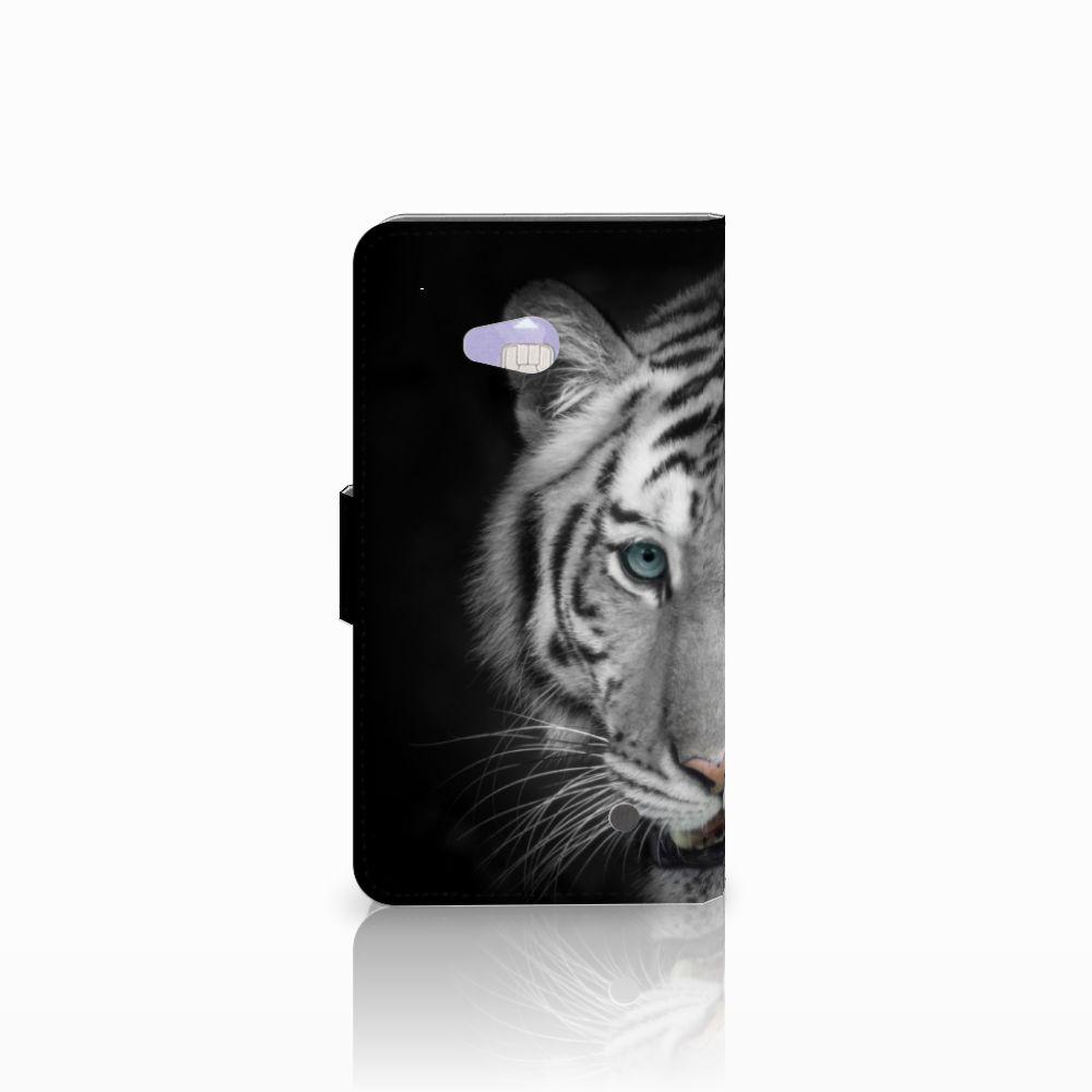 Microsoft Lumia 640 Telefoonhoesje met Pasjes Tijger