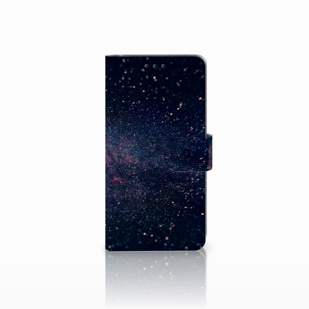 Samsung Galaxy A8 2018 Boekhoesje Design Stars