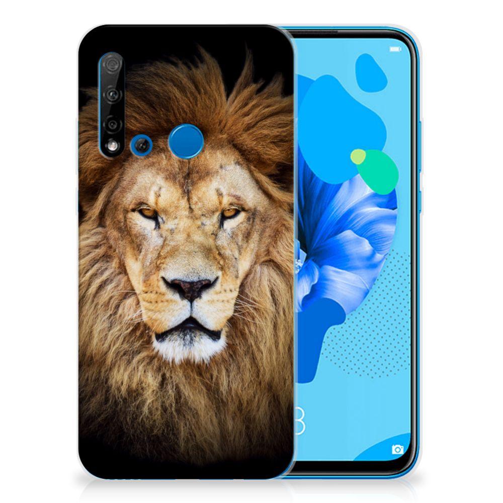 Huawei P20 Lite (2019) TPU Hoesje Leeuw