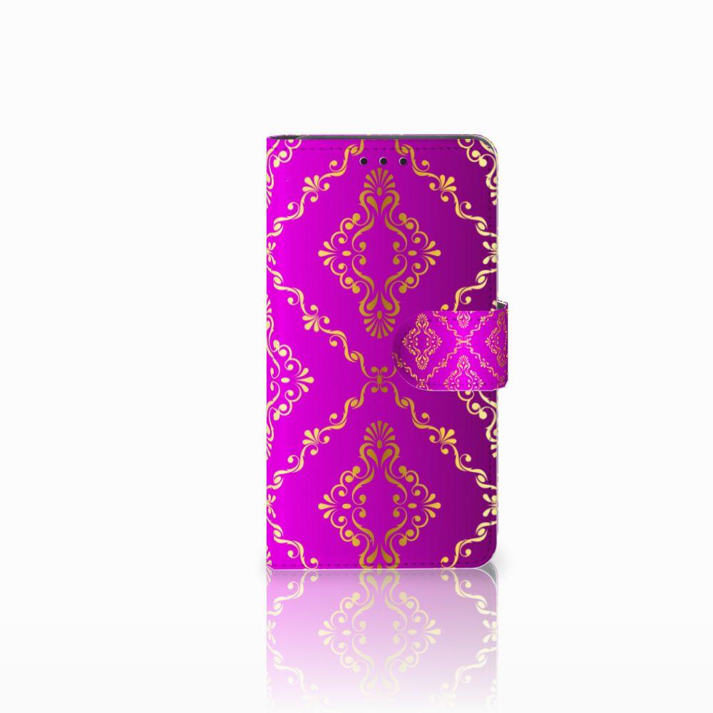 Wallet Case Huawei Y6 Pro 2017 Barok Roze