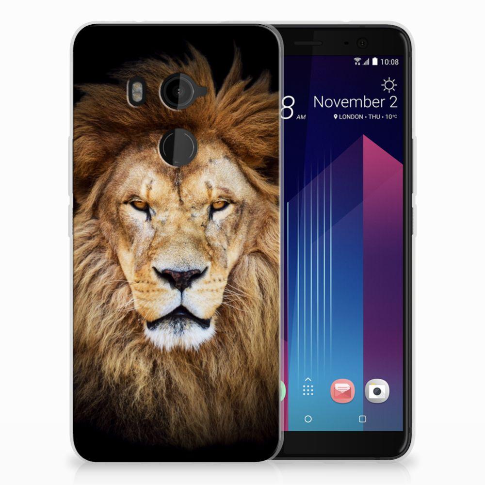 HTC U11 Plus TPU Hoesje Leeuw