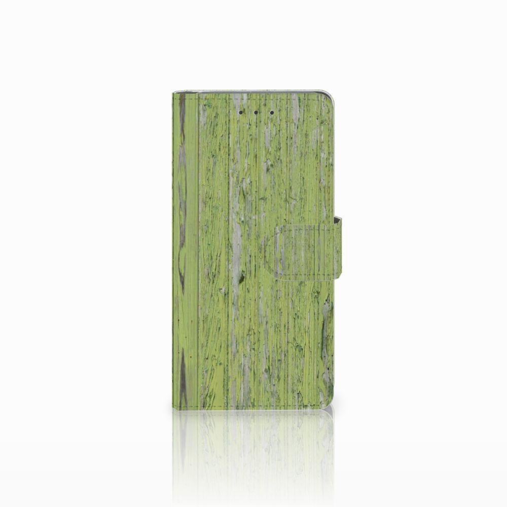 Samsung Galaxy Grand Prime   Grand Prime VE G531F Boekhoesje Design Green Wood