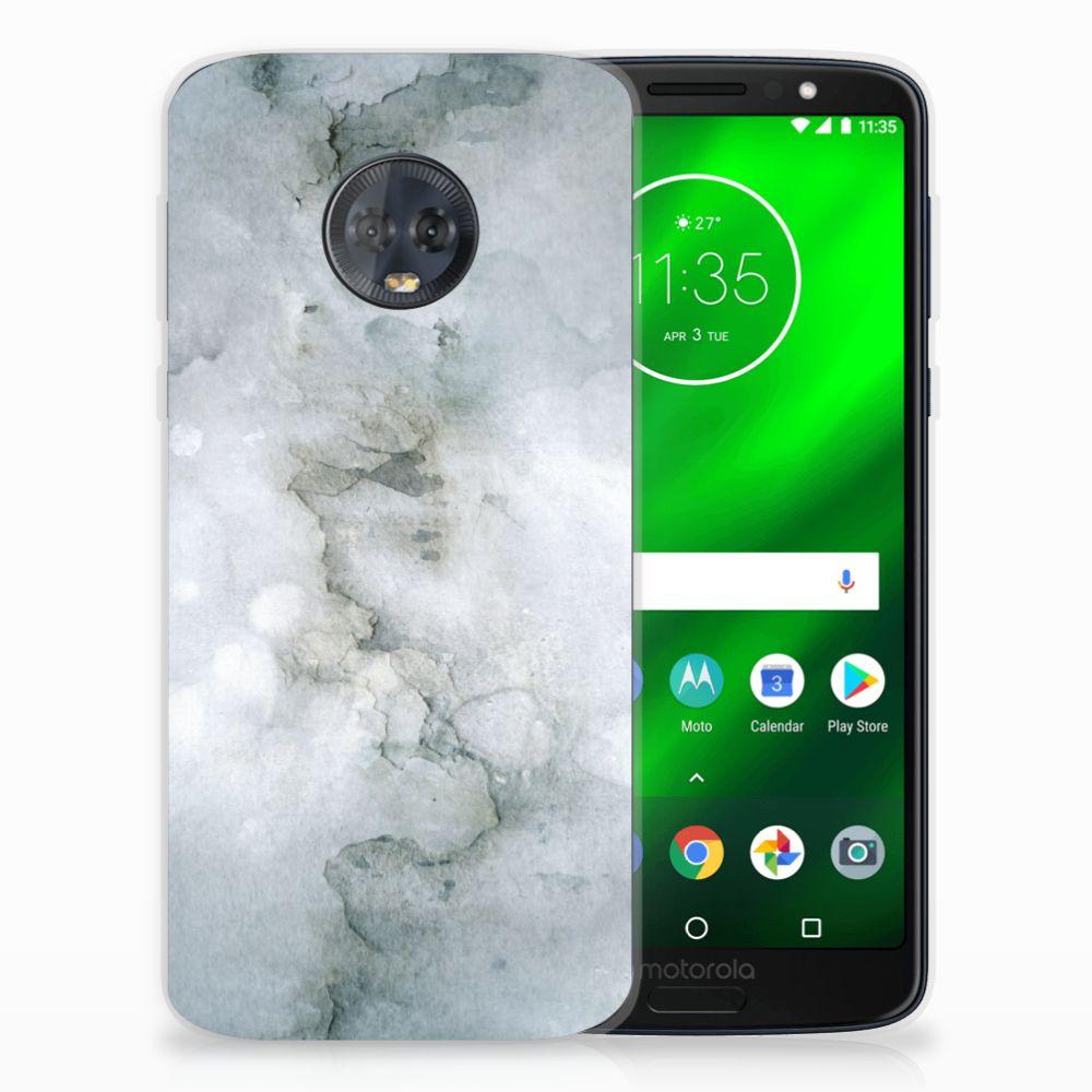 Hoesje maken Motorola Moto G6 Plus Painting Grey