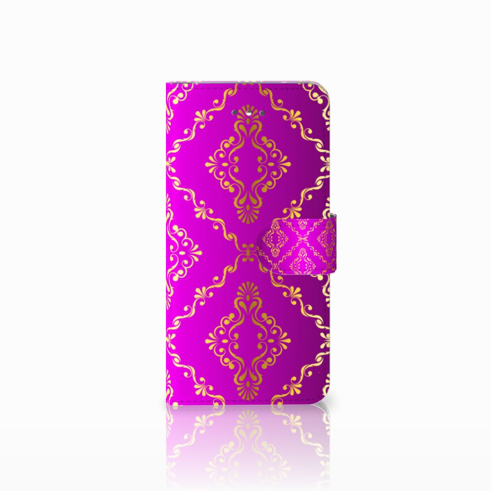 LG Nexus 5X Uniek Boekhoesje Barok Roze
