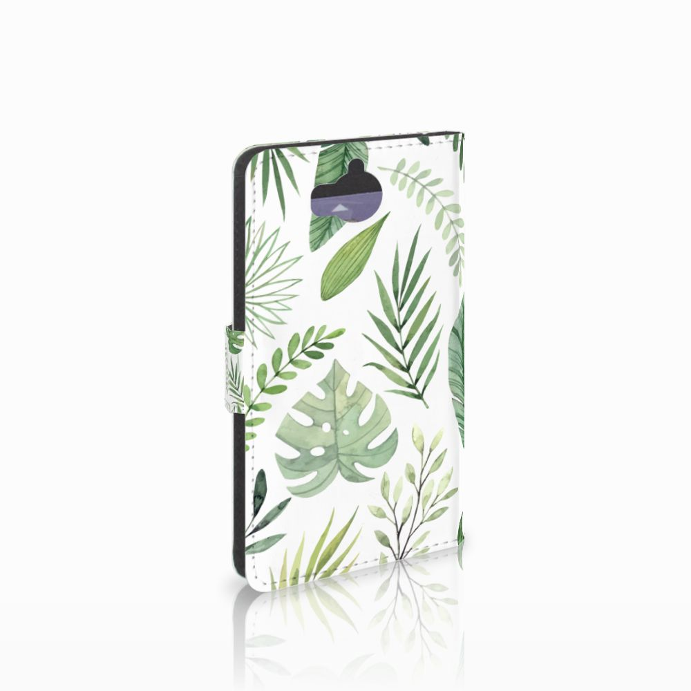 Huawei Y5 | Y6 2017 Uniek Boekhoesje Leaves