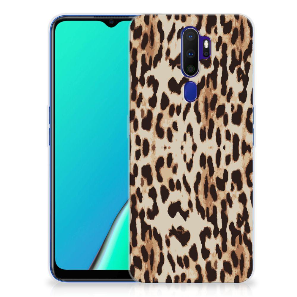 OPPO A5 2020 TPU Hoesje Leopard