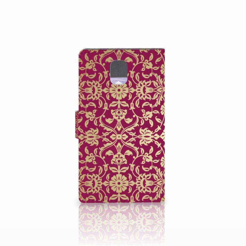 Wallet Case Samsung Galaxy Note 3 Barok Pink