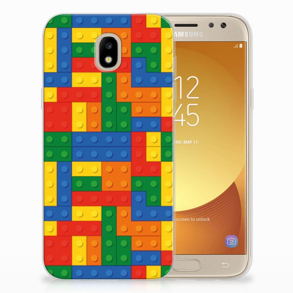 Samsung Galaxy J5 2017 TPU Hoesje Design Blokken