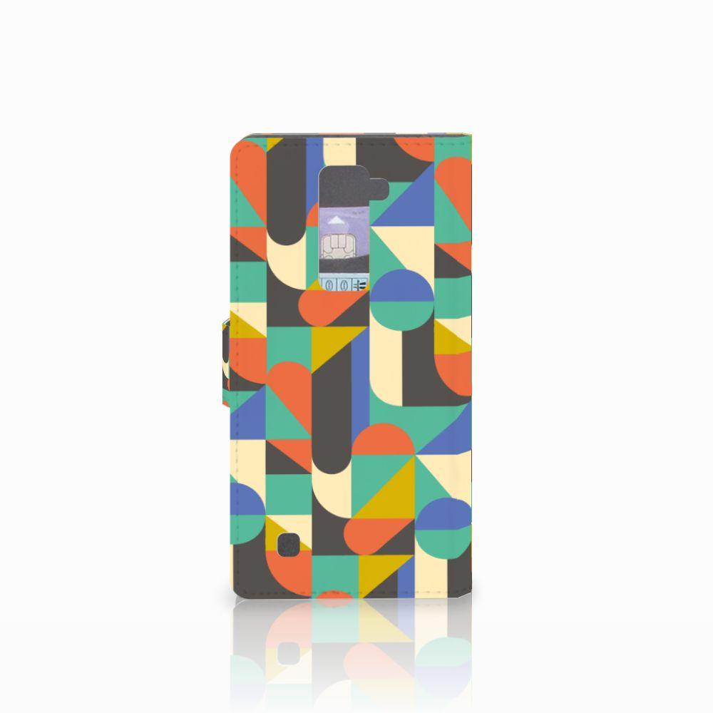 LG K10 2015 Telefoon Hoesje Funky Retro